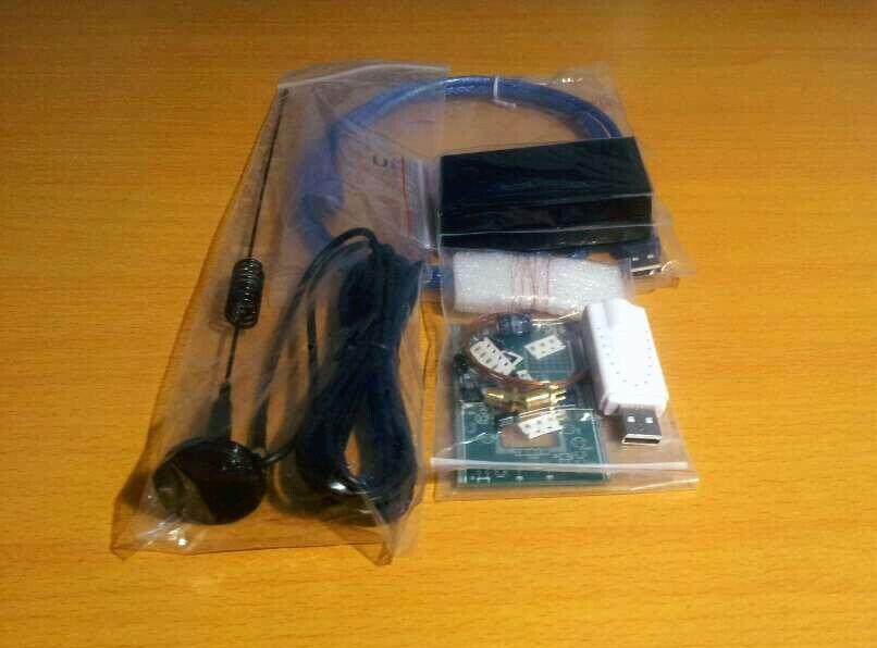 DIY KITs 100KHz-1.7GHz UV HF RTL-SDR USB Tuner Receiver//R820T+8232 CW FM radio