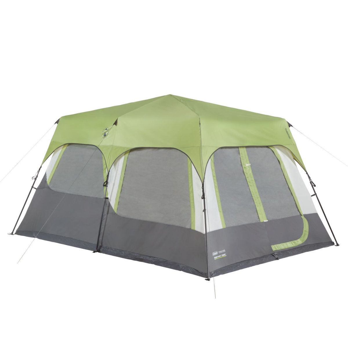 Coleman Instant Cabin 10 Tent With Fly 10 Person 825259 Cabin Tent Coleman Tent 10 Person Tent