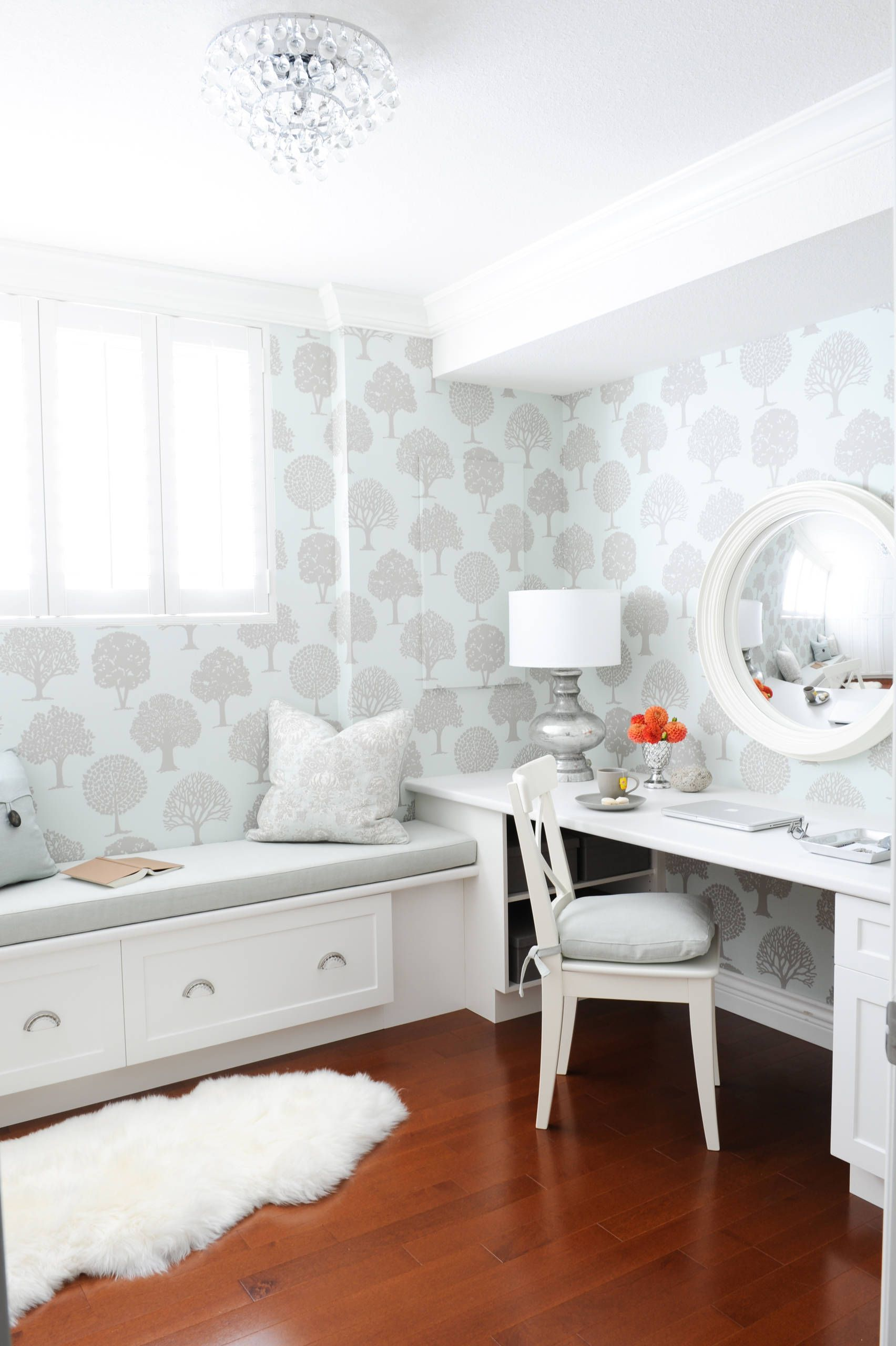 Simply Home Decorating - mini home office | Crafccino BLOG ...