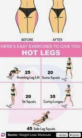 Here's Easy Eexercises to Give You HOT LEGS.  #Fitness #trainieren #Übungen #ho... #gesundheit #gesu...