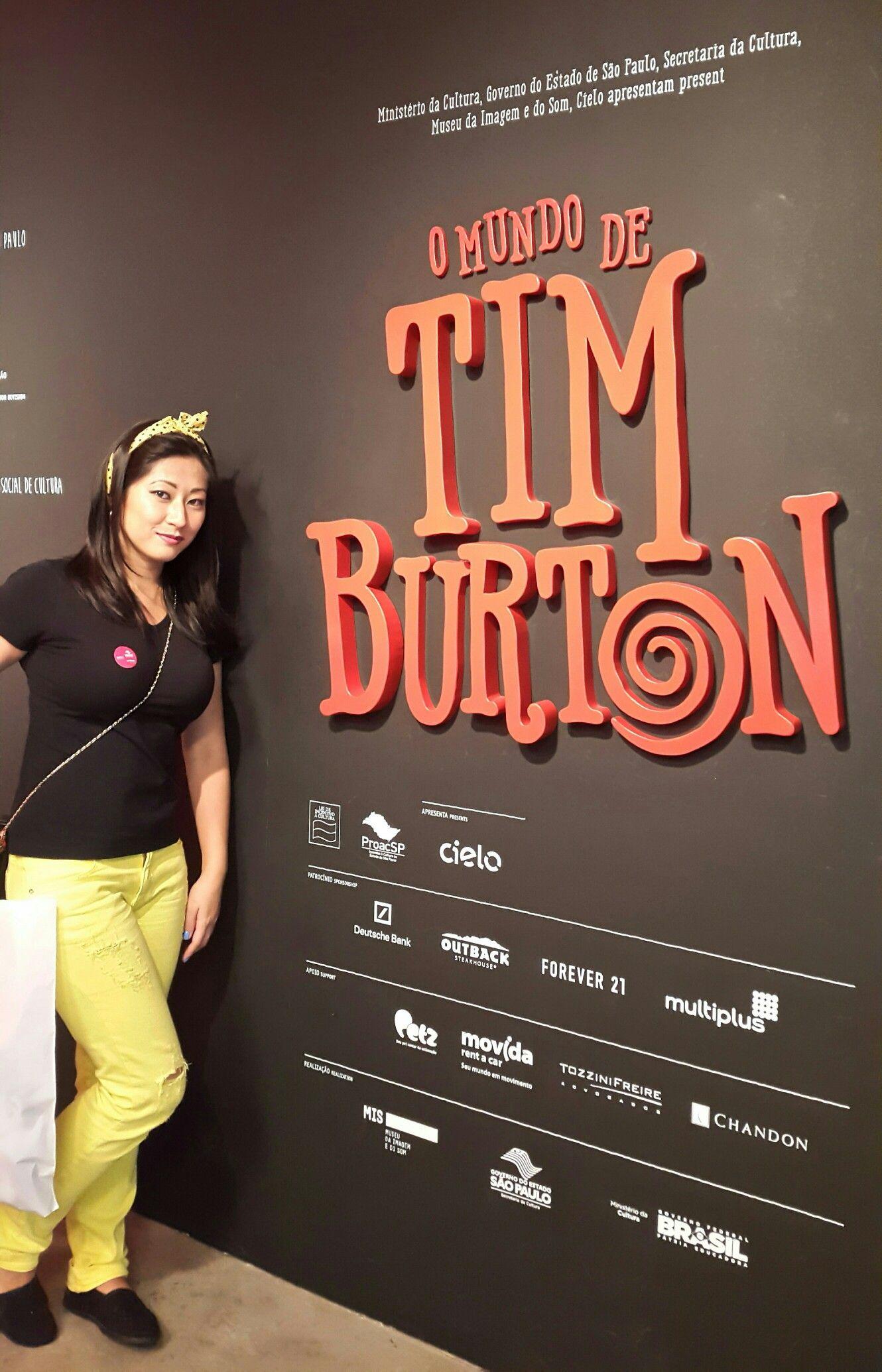 Exposição do Tim Burton no MIS, Museu da Imagem e do Som, em São Paulo