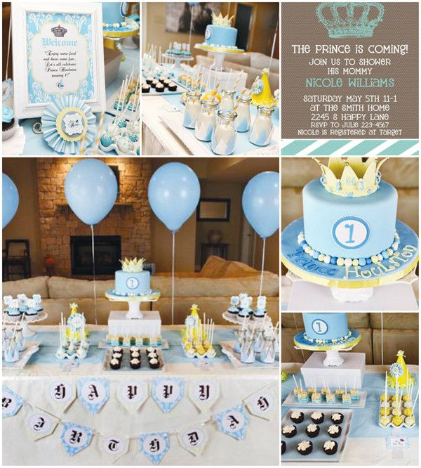 Top 5 baby shower themes ideas for boy baby shower ideas - Baby shower party ideen ...