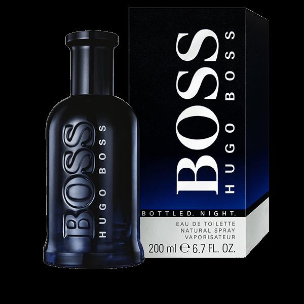 BOSS Bottled Night eau de toilette 200 ml prix promo Soldes Hugo Boss € TTC