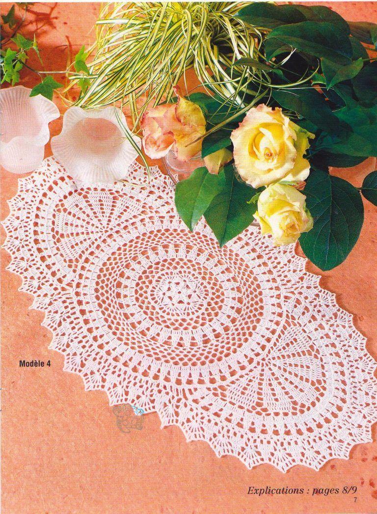 Circle Oval Crochet Doily Pattern | Crochet | Pinterest | Carpeta