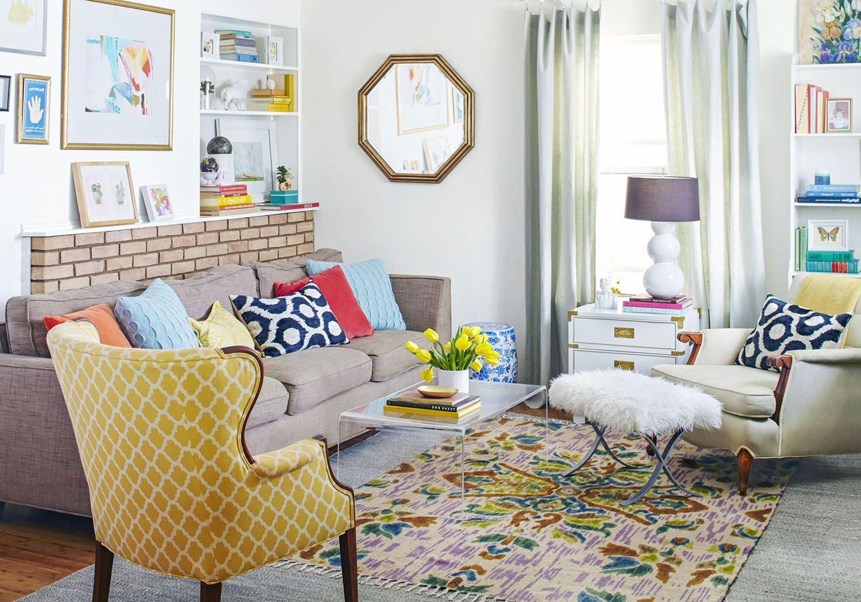 7 Design Secrets To Happy Cohabitation Contemporary Living Room