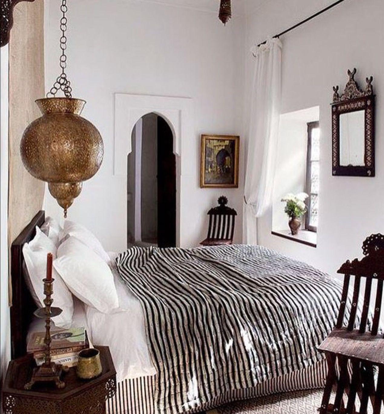 Dec marroqu e atemporal ropa de cama pinterest recamara dormitorios y dormitorio marroqu - Casas marroquies ...