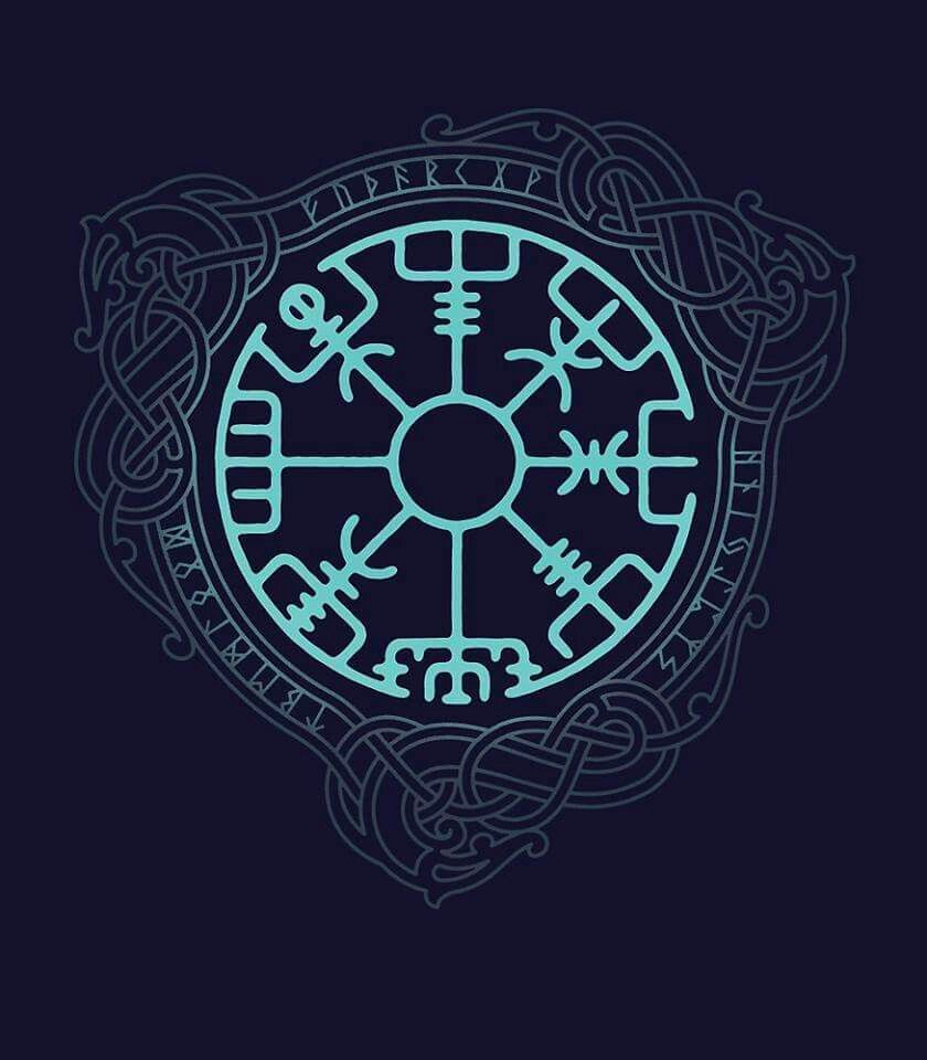 Viking protection and compass tattoo mythlogy pinterest design tattoos buycottarizona Choice Image