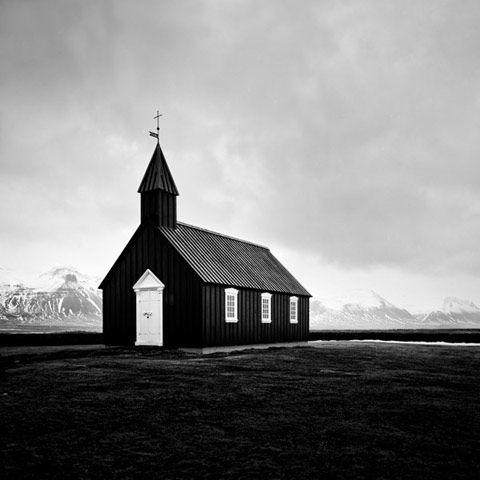 Búðakirkja in Snæfellsnes peninsula
