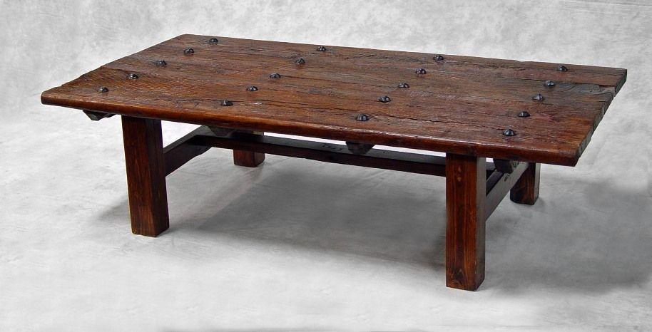 Vintage Coffee Tables | Antique door coffee table JB019 - Coffee Tables - Vintage Coffee Tables Antique Door Coffee Table JB019 - Coffee