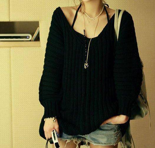 Off the shoulder sweater | Fall/Winter Wear | Pinterest | Shoulder ...