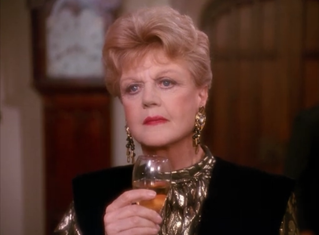 jessica fletcher - may i recommend pairing a high-collared