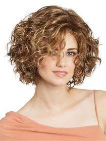 Peinados medianos para cabello rizado-ondulado 2019