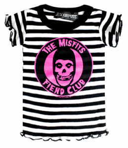 e9eed002f ... rock t shirts for kids. Misfits Baby Clothes - Born to be a little  punker! Kiditude - Misfits Girly T Shirt $21.95 Read more: http://www.