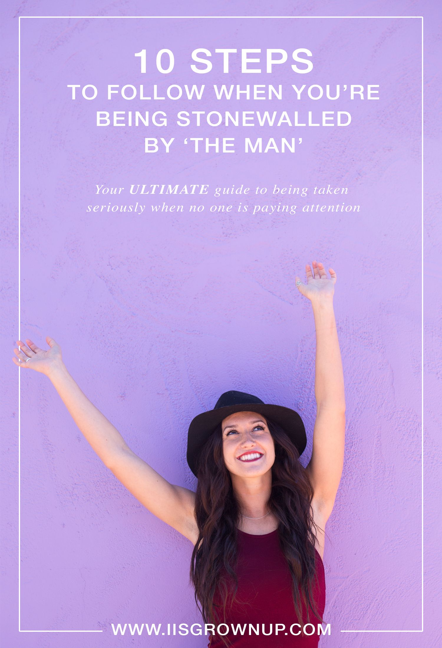 10 Steps To Follow When You Re Being Stonewalled By The