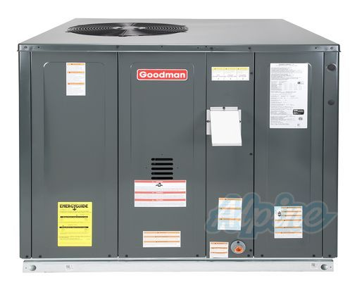 Goodman 3 5 Ton 15 Seer Gpg154211541 Self Contained Furnace Locker Storage Storage Heat Pump