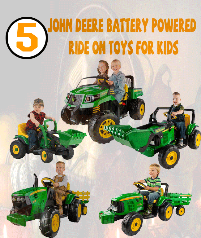 Battery Powered Ride On Toys For Toddlers >> John Deere Battery Powered Ride On Toys For Kids Toys For Kids