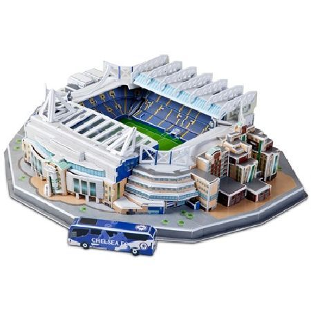 N A Chelsea 3d Stadium Puzzle Cfc 3725 Have Fun Creating Your Favourite Stadium With Family Friends Http Www Mightget Com Februa Puzzle Set Chelsea Stadium