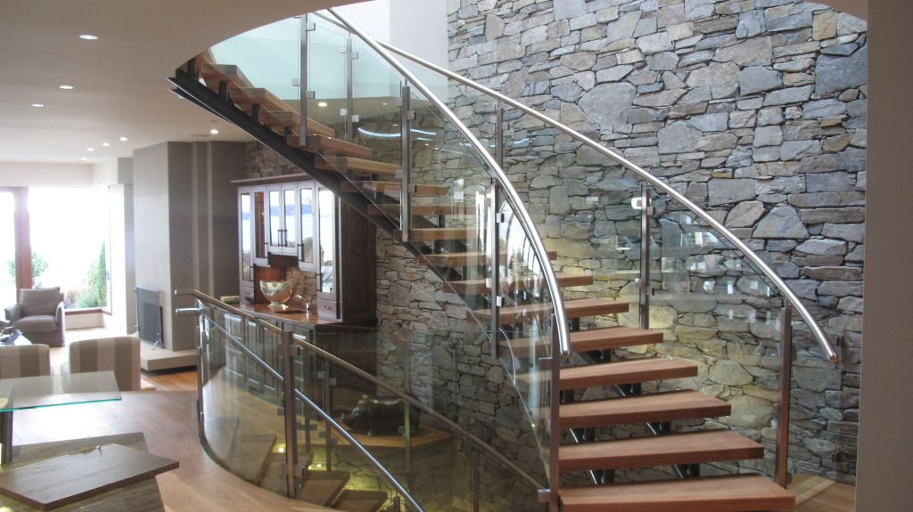 Best Curved Glass Staircases Products Coastal Curved Glass 400 x 300