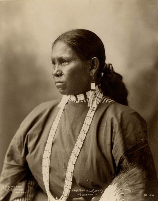 Tonkawa Woman. The Tonkawa are a Native American people indigenous ...