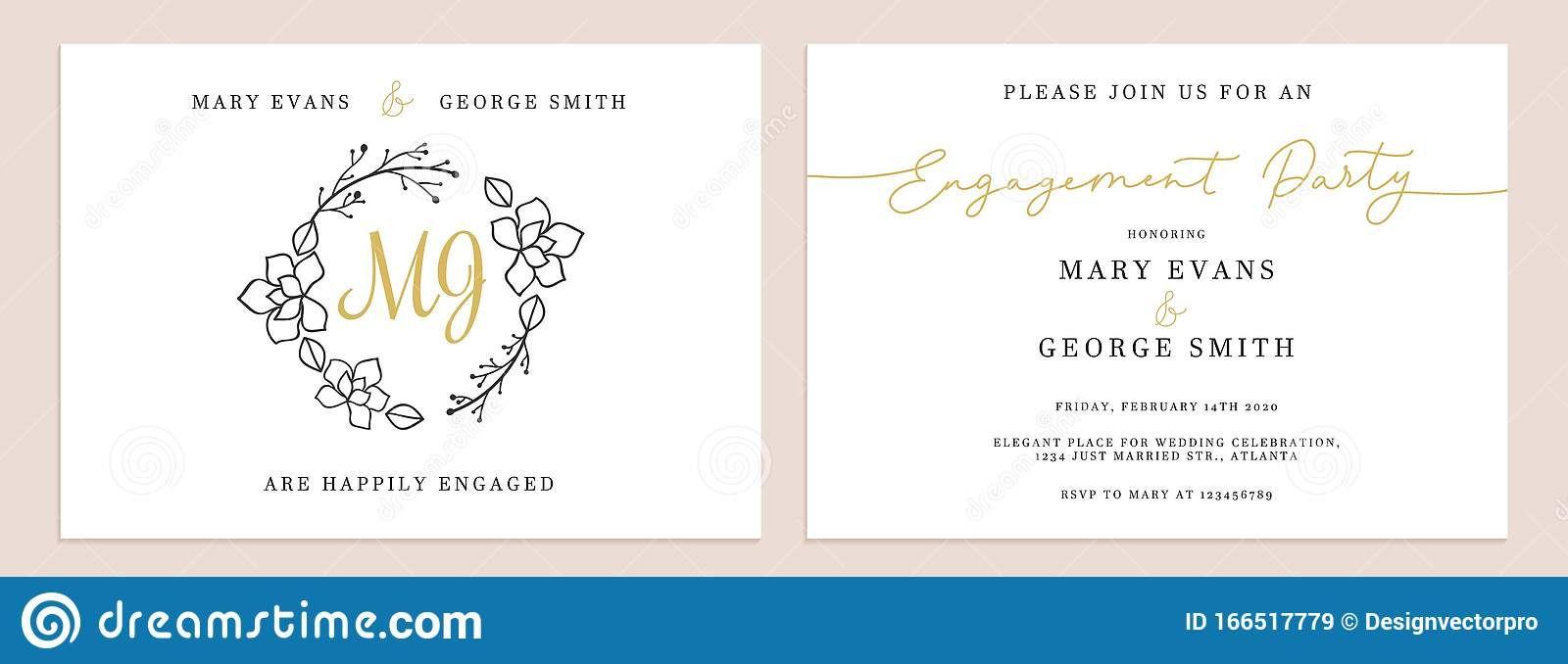 Set Of Wedding Invitation Cards Design Templates Stock With Regard To Celebrate It Templates Place Invitation Card Design Wedding Invitation Cards Card Design