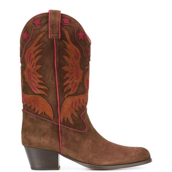 Aquazzura 'Imperial Cowboy' boots (2,429 CAD) ❤ liked on Polyvore ...