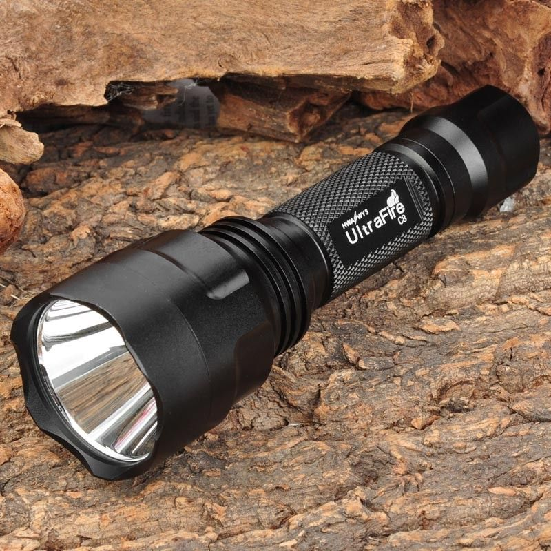 UltraFire CREE XM-L T6 LED 12000Lm 3 Modes Zoomable 18650 Flashlight Torch Light