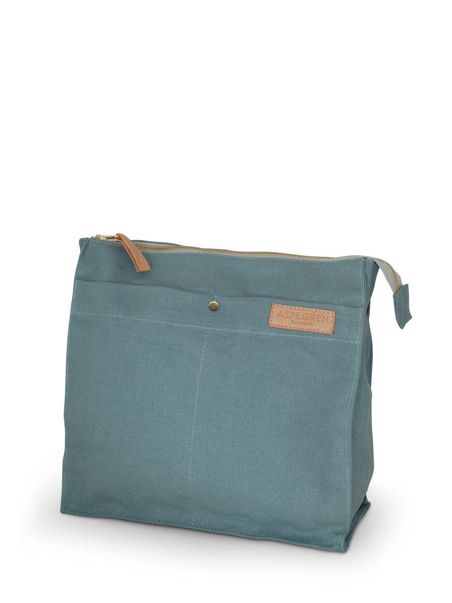 Große Kulturtasche Mano jade | Taschen, Wolle kaufen und