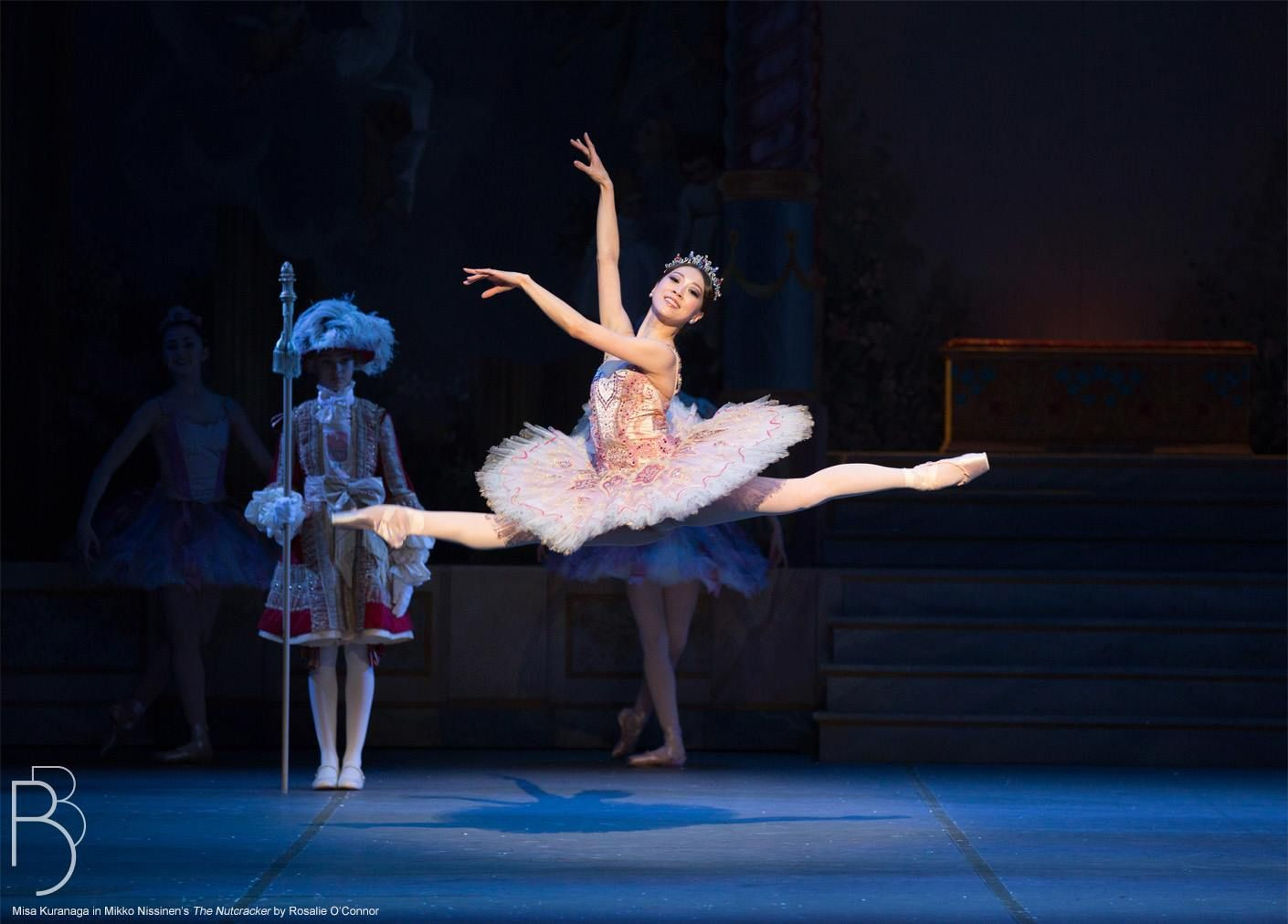 Boston Ballet Principal Dancer Misa Kuranaga In The Nutcracker