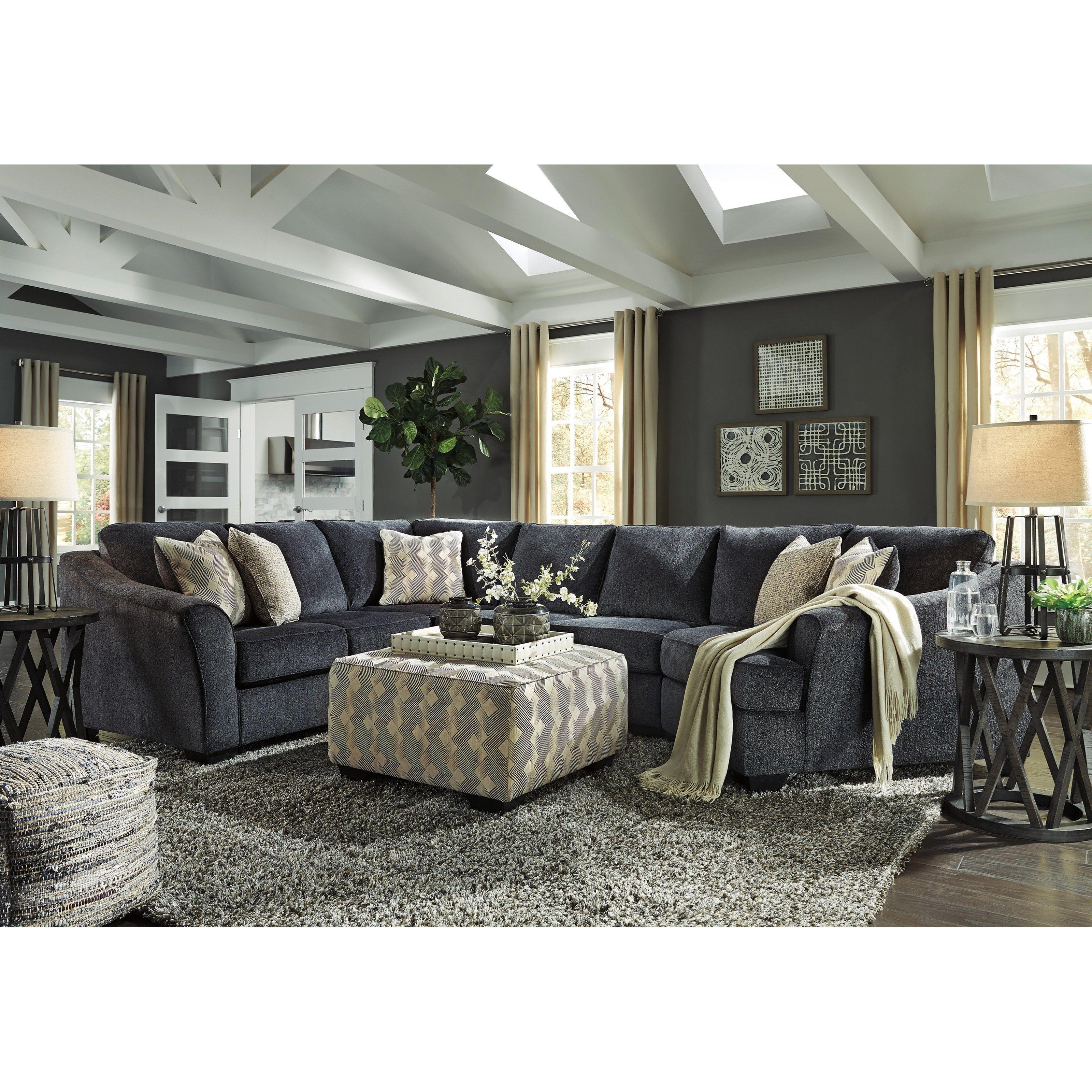 eltmann stationary living room groupashley signature