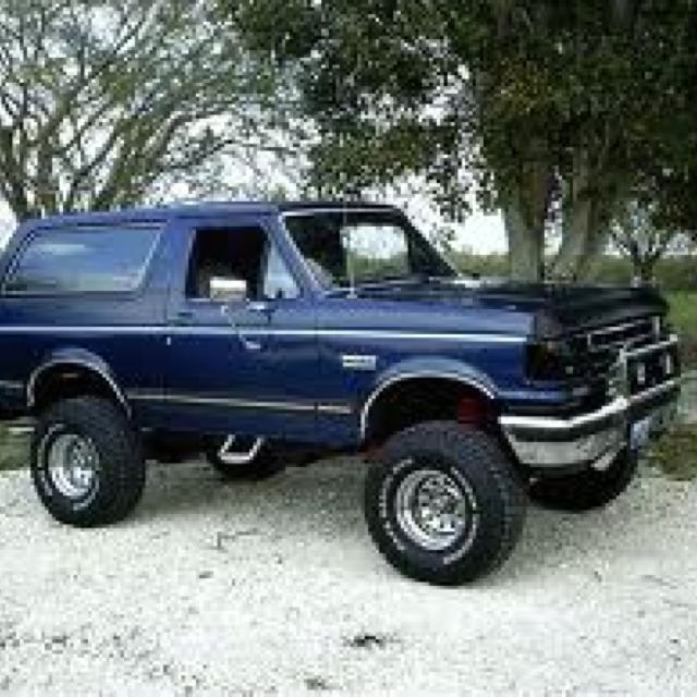 1989 Bronco Reminds Me Of My Hs Years I Had A 1989 Ford Bronco