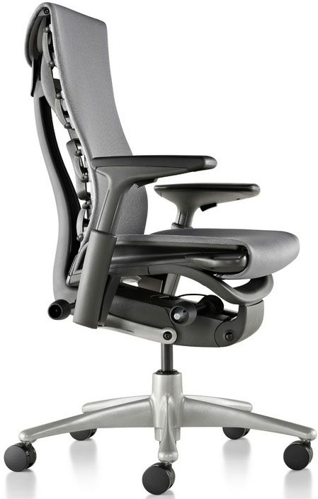 Herman Miller Leather Office Chair Best Ergonomic Office Chair
