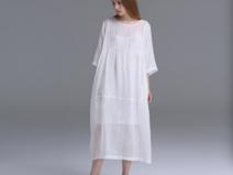 WHITE 2 Pieces Dresses Set Oversize Designer Maxi