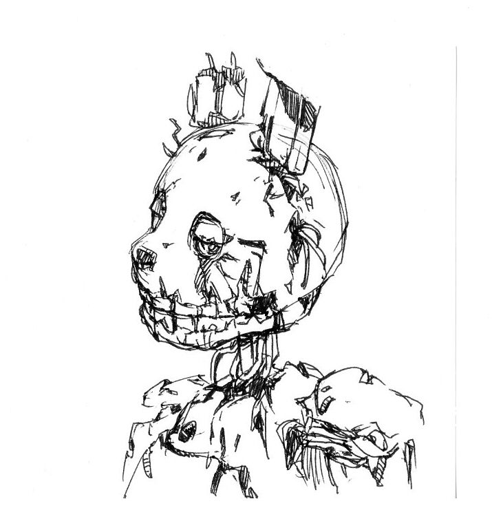 Springtrap So Cute 3 From Tumblr Fnaf Coloring Pages Fnaf