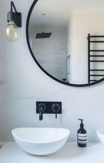Photo of 64+ Ideas bathroom black accessories sinks