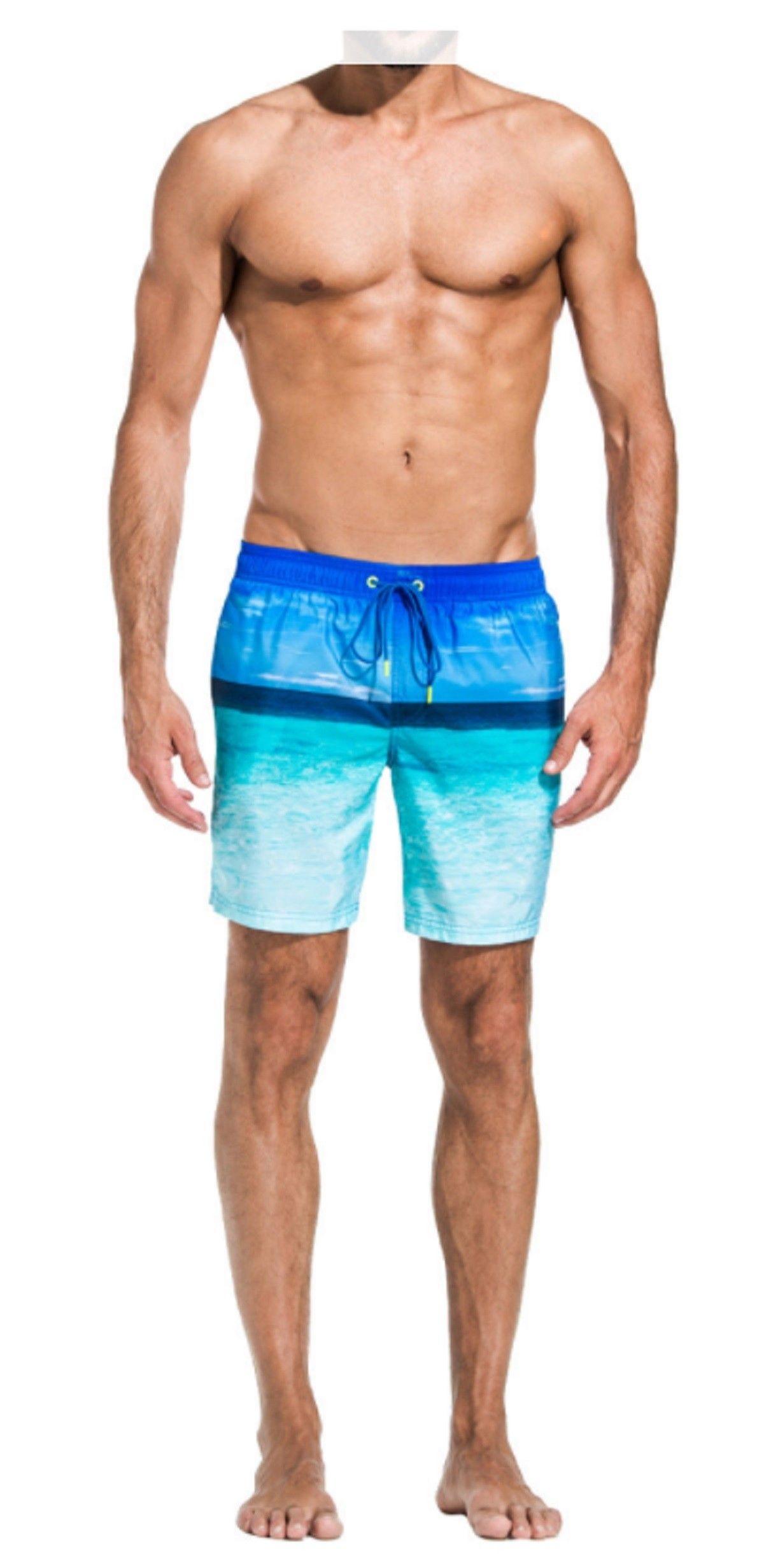e5dc4c793b Costume Sundek m505bdp03gd elastic waist 089 lungo ocean blue ss17 | sundek  uomo 2017 | Swim trunks, Elastic waist, Trunks