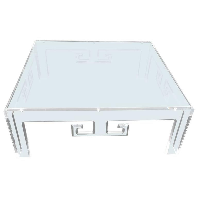 Large Square Lucite Coffee Table Products In 2019