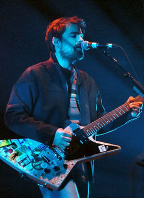 Rivers Cuomo. I'm loving his sick guitar...