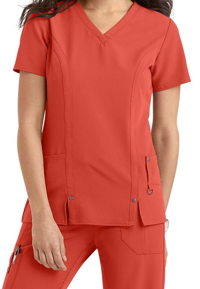Dickies Womens Scrubs Xtreme Stretch V-Neck Shirt