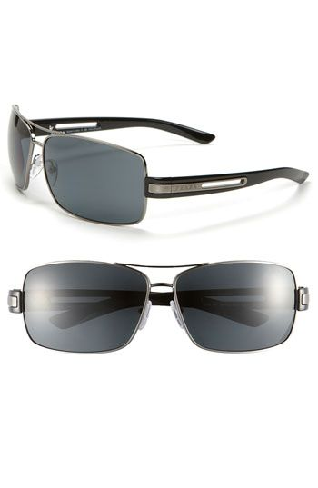 f56e7cea3b Prada Polarized Aviator Sunglasses