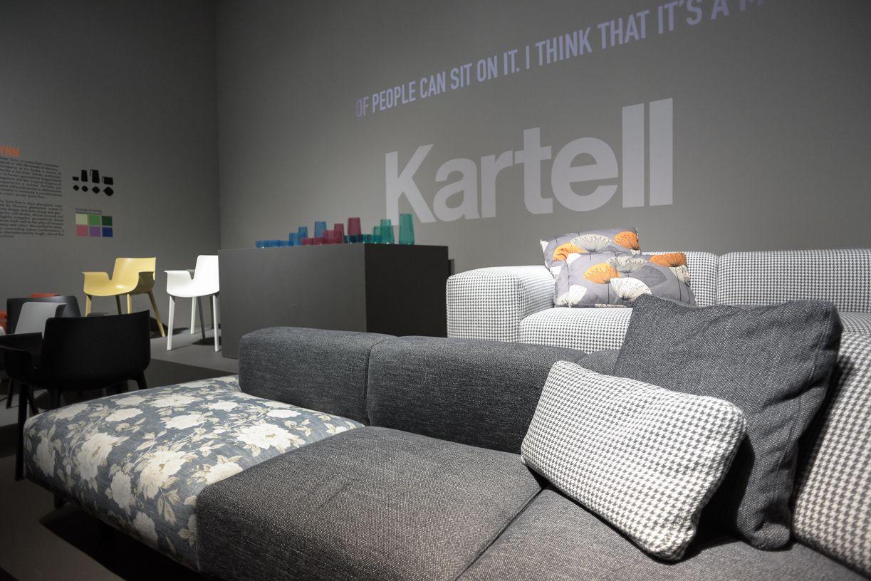 kartell sofa largo black leather power recliner by piero lissoni salone 2016 pinterest