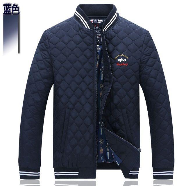 2017 Free shipping Kenty & Shark men's clothing Autumn winter long-sleeved jacket Men's jacket Cotton coat Men's jacket K6678