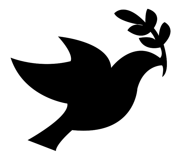christmas dove silhouette - photo #7