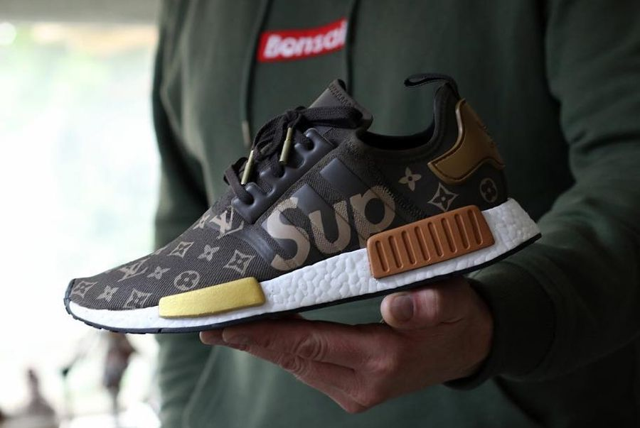 Is This What A LV x Supreme x adidas NMD Would Look Like