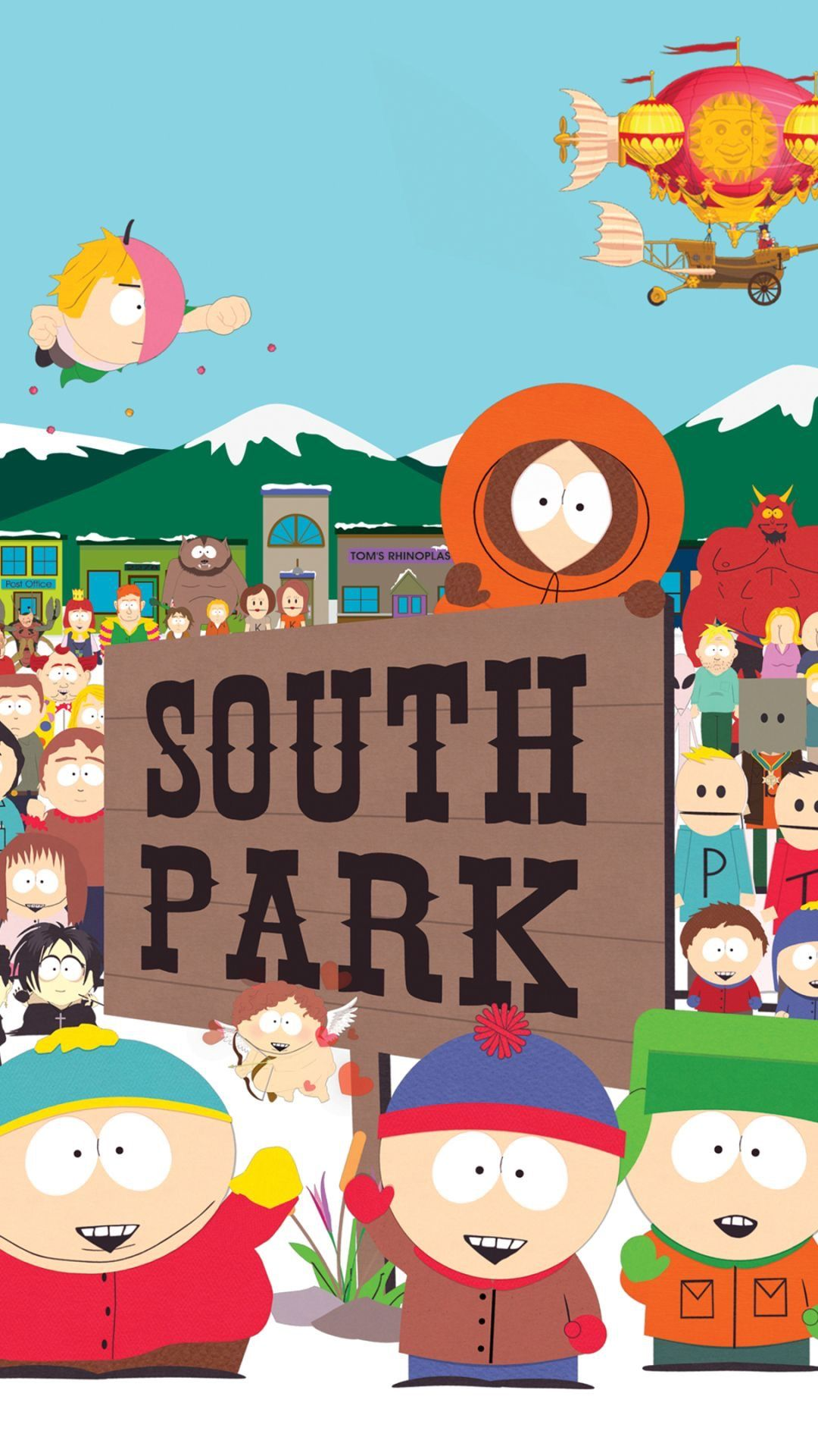 Pin By Edgar Alva On Imagens South Park Poster South Park Nature Iphone Wallpaper