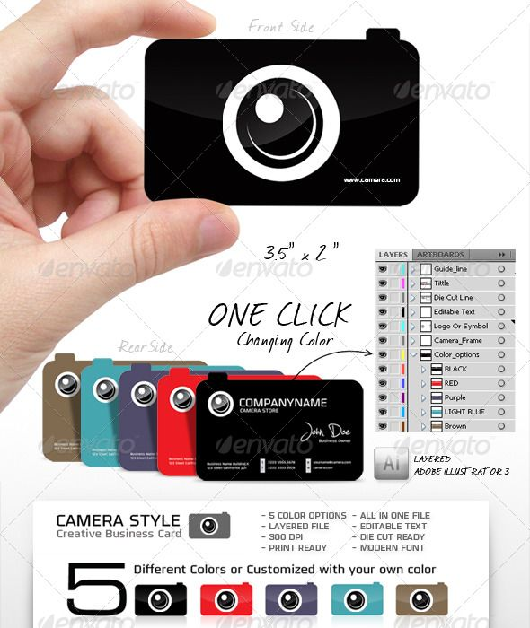 17 Best images about Business Cards for Photographers on Pinterest ...