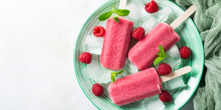 Super Berry Shakeology Popsicles