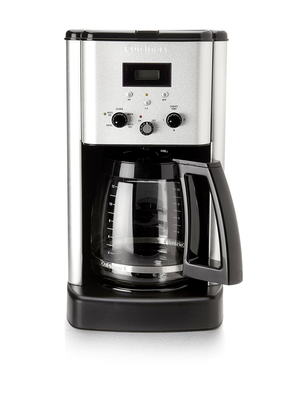 Cuisinart Cbc 00pc6 Brew Central 12 Cup Programmable Coffeemaker With Permanent Gold Tone Filter And Char Coffee Maker Coffee Machine Best Home Coffee Machines