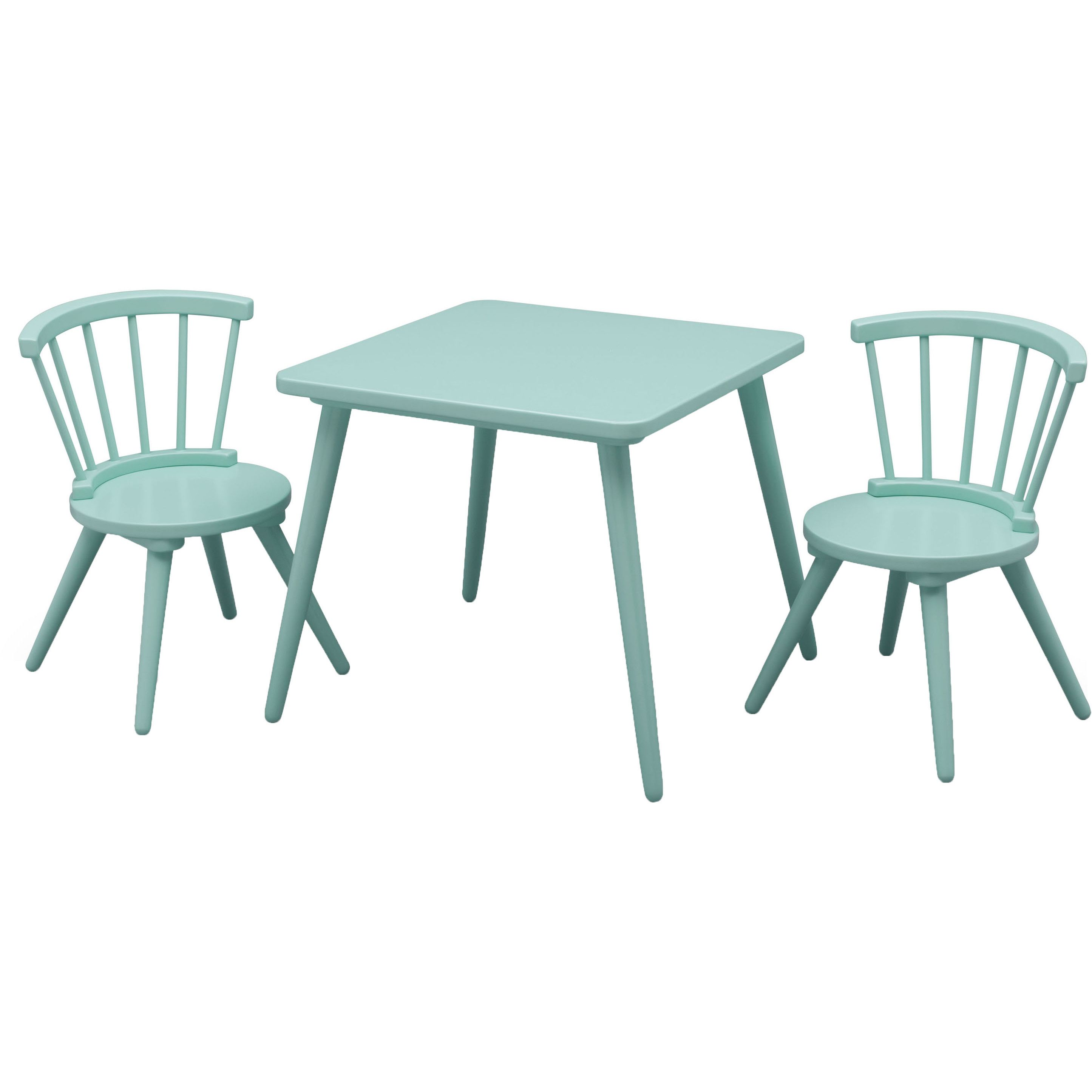 Justine Windsor 3 Piece Table and Chair Set by Delta  sc 1 st  Pinterest & Justine Windsor 3 Piece Table and Chair Set by Delta | Windsor F.C. ...