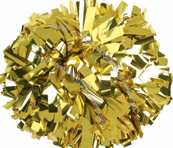 Stunning Gold Pom Poms 15 Each Cheergear Cheer Pom Poms Cheerleading Pom Pom