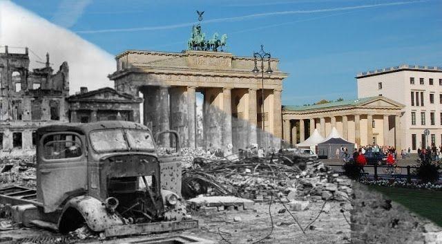 Pariser Platz And Reichstag Pariser Brandenburger Tor Berlin